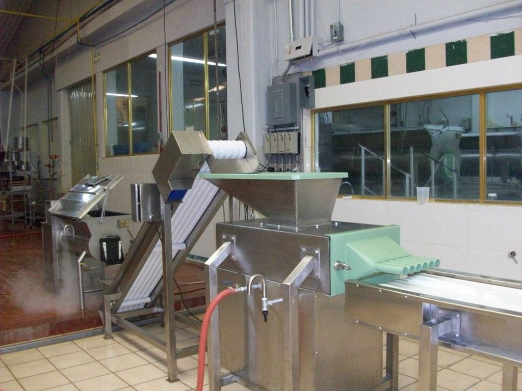 Línea de Automatización de Producción de Queso Asadero o Oaxaca
