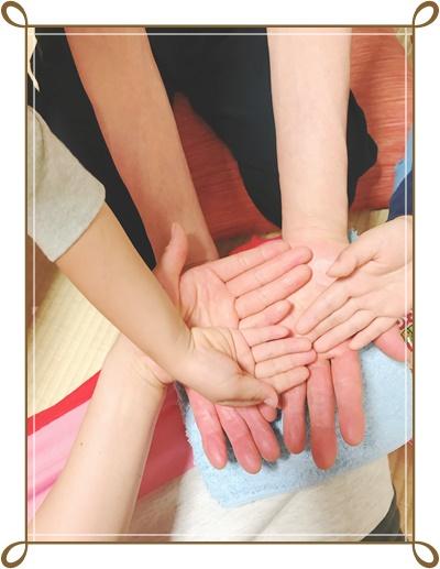 Aroma & Koji cafe salon YORIMICHI 北浦和 浦和 自宅サロン エッセンシャルオイル アロマ 麹 糀 ハンドマッサージ 母 私 長男 次男