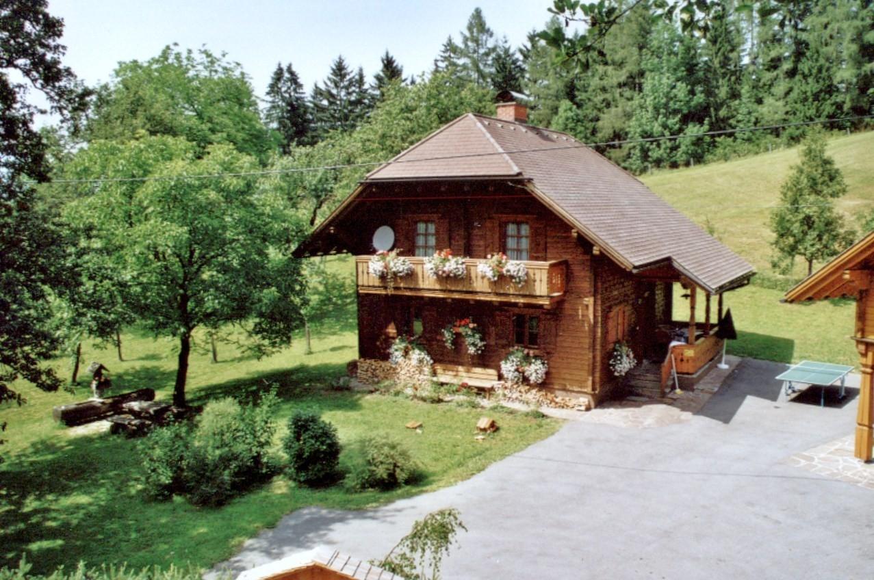 Bio-Blockhaus Koglerhütte mit Garten