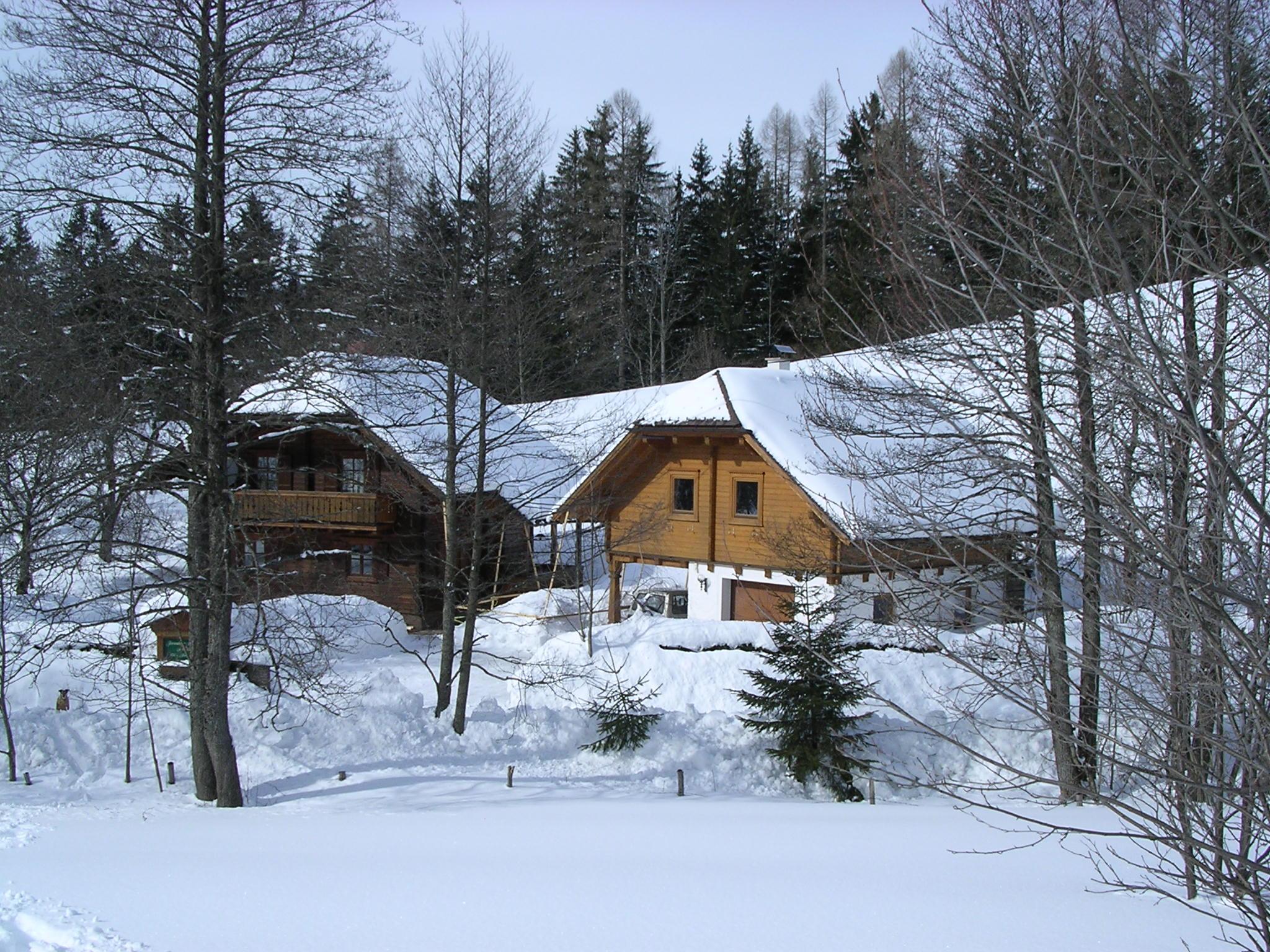 Bio-Blockhaus und Kleines Ferienhaus Koglerhütte