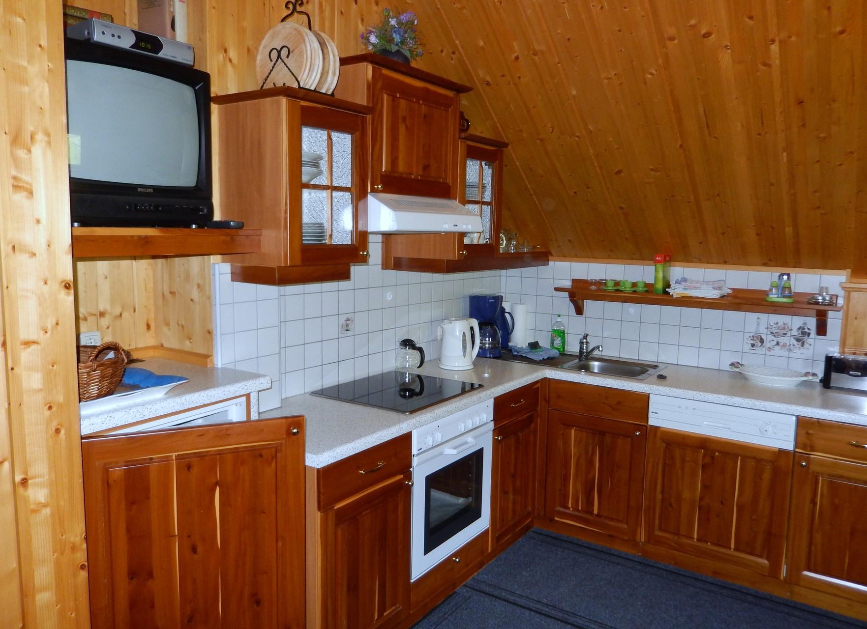 Vollausgestattete Küche Kleines Ferienhaus Koglerhütte