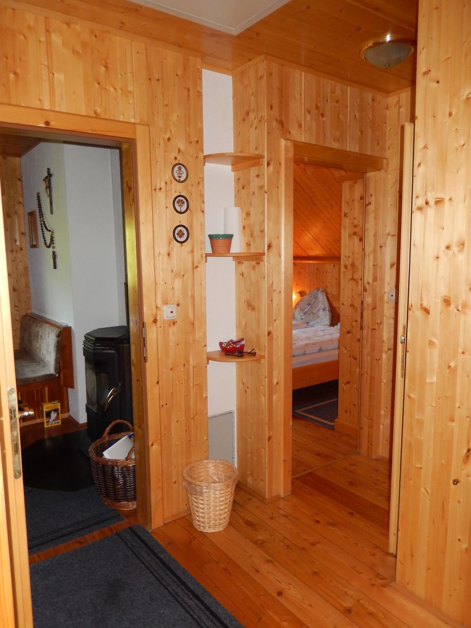 Vorraum Kleines Ferienhaus Koglerhütte