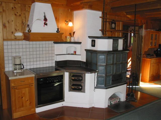 Kochbereich Bio-Blockhaus Koglerhütte