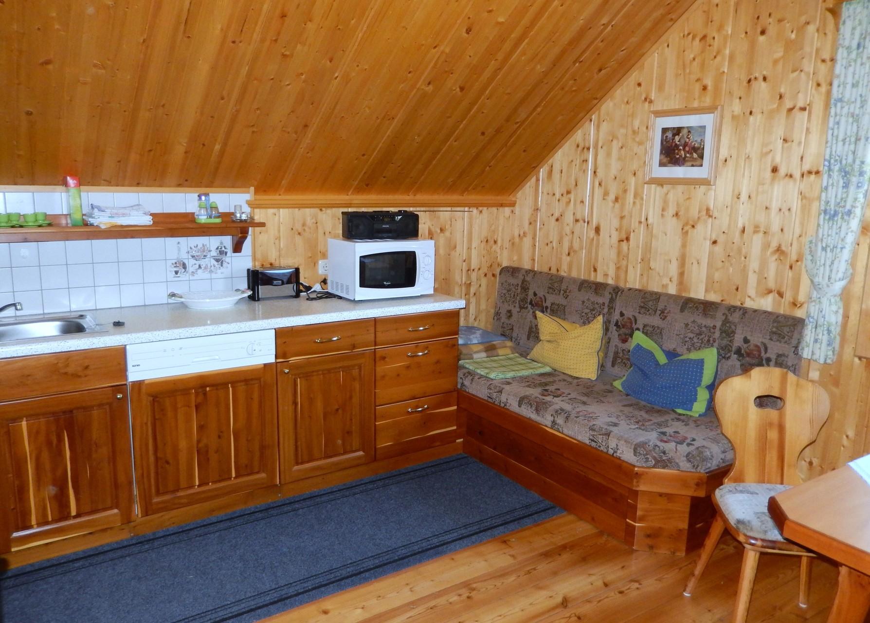 Küche Kleines Ferienhaus Koglerhütte