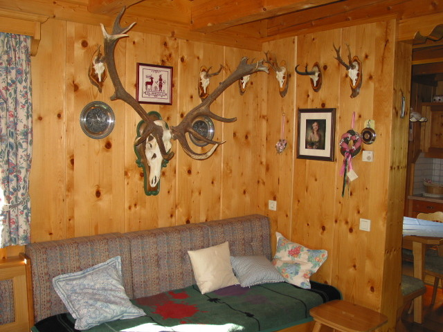 Stube Bio-Blockhaus Koglerhütte