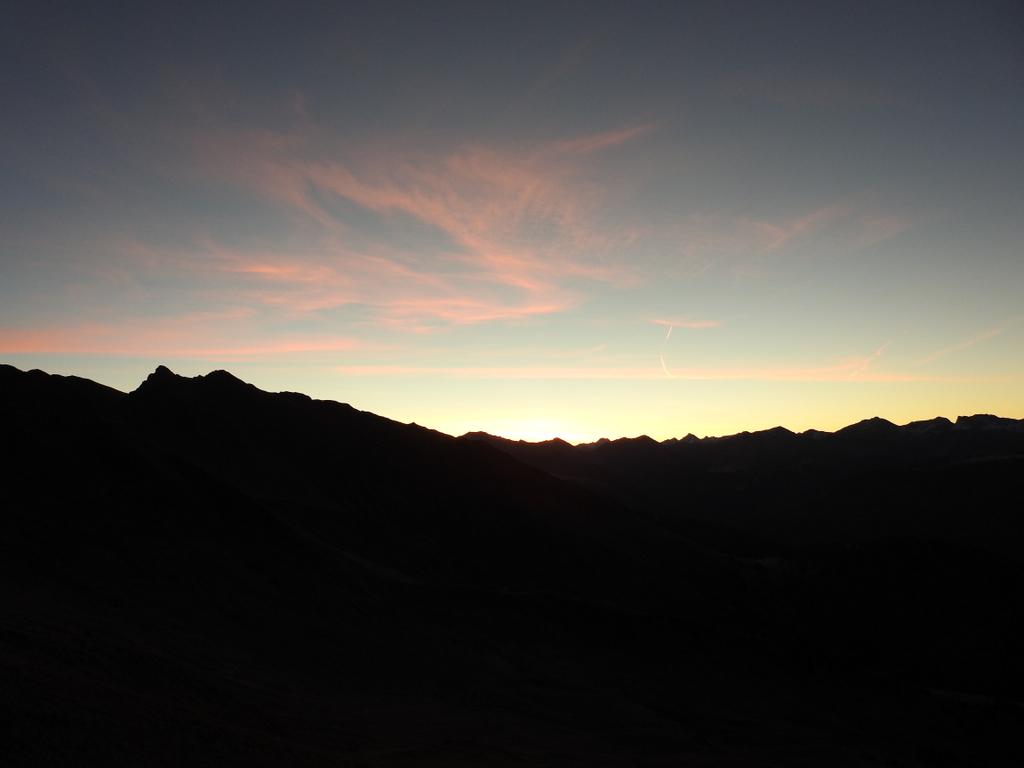 Warten auf den Sonnenaufgang 07.46 Uhr...
