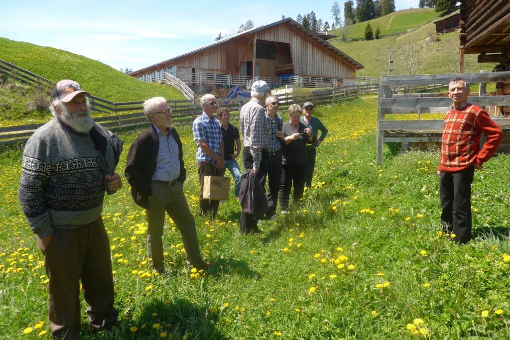 Bei schönstem Frühlingswetter erfahren die Besucher...
