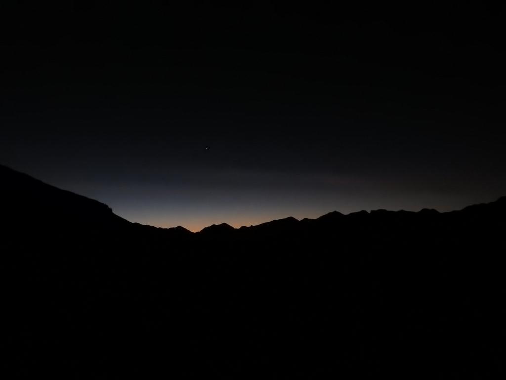 31.10.2016: Auf dem Montalin (2266 m) 7.05 Uhr...