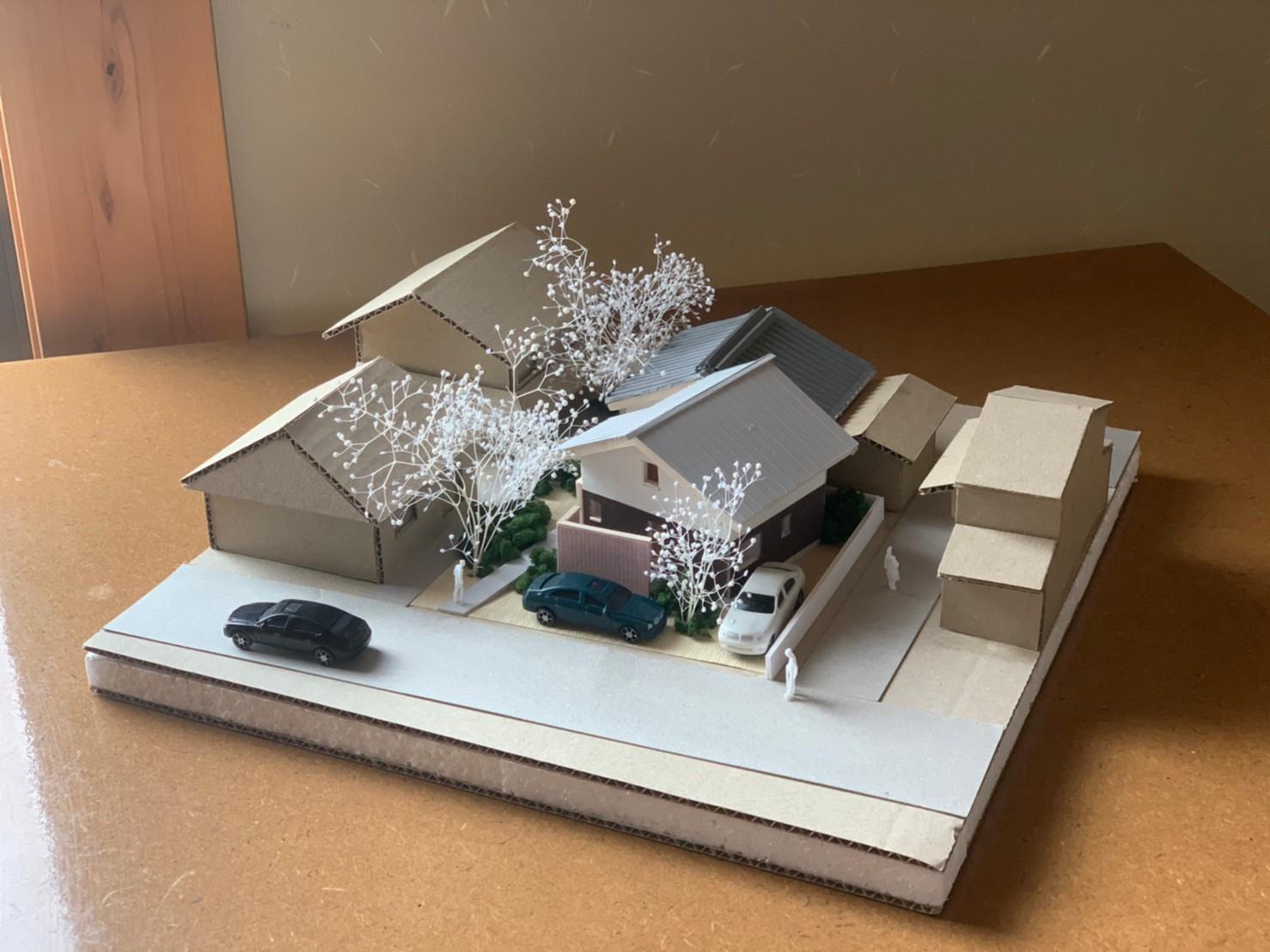 京都市南丹市の計画模型【設計業務】