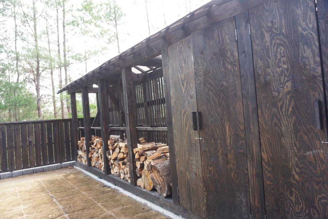 半坪ハウスを薪小屋に!【ワークショップ】