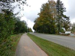Gehweg in Lindenberg