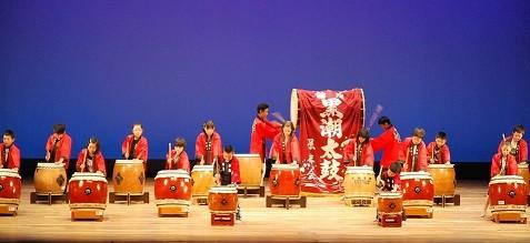 26年 特別出演 子どもの伝統文化体験教室≪太鼓≫のみなさん