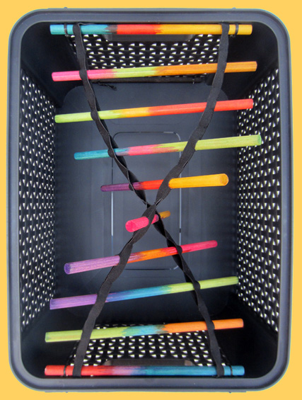 DNA: DNA streng in kratje
