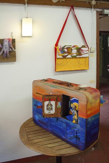 Zoo-tex op reis: Koffer van Carla, reistas van Bouwke