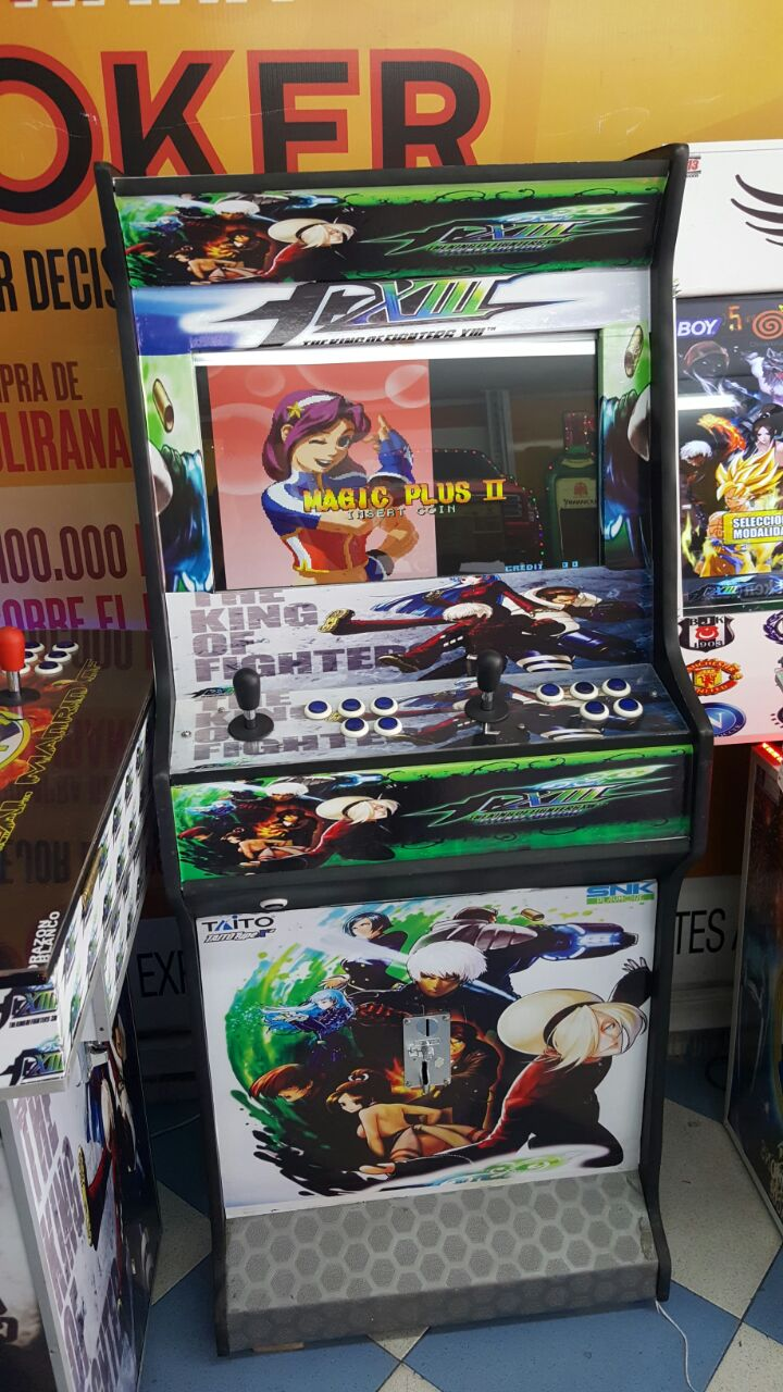 Maquina de videojuegos arcade y neogeo