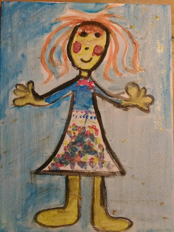 ARTii-kids workshop schilderen op doek Driel