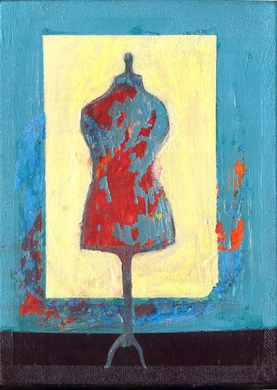 """""""sans titre"""", 33x24, acrylique sur toile ©"""