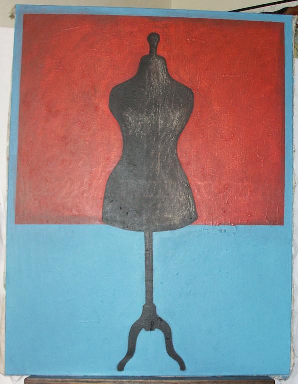 """""""sans titre"""", 116x89, acrylique sur toile ©"""