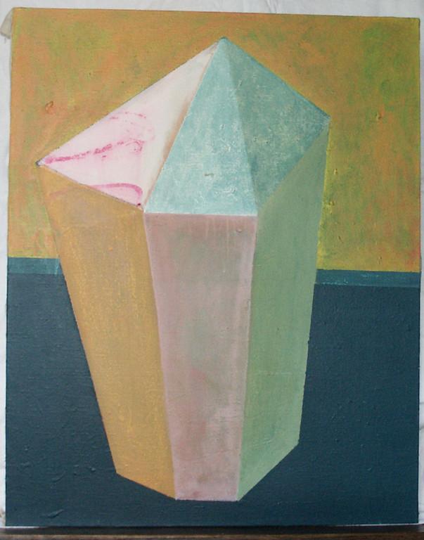 """""""sans titre"""", 81x65, acrylique sur toile ©"""