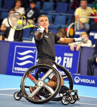 stephane houdet tennis handisport paralympique champion fauteuil professeur xavier X-men