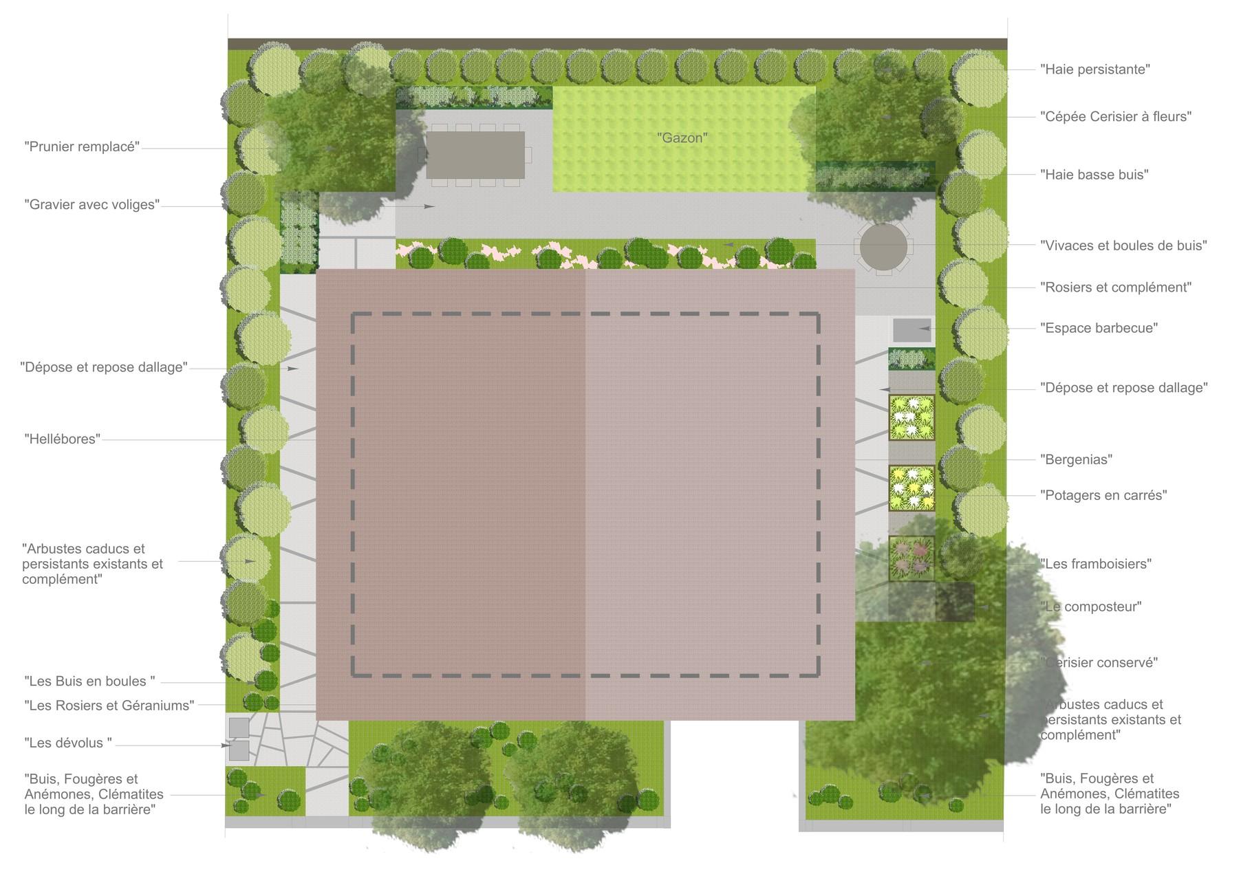 jardin privé annecy - sarah fetz architecte paysagiste basée à