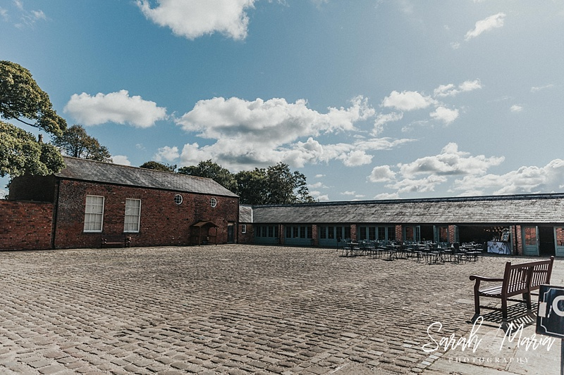 the tithe barn at meols hall in southport