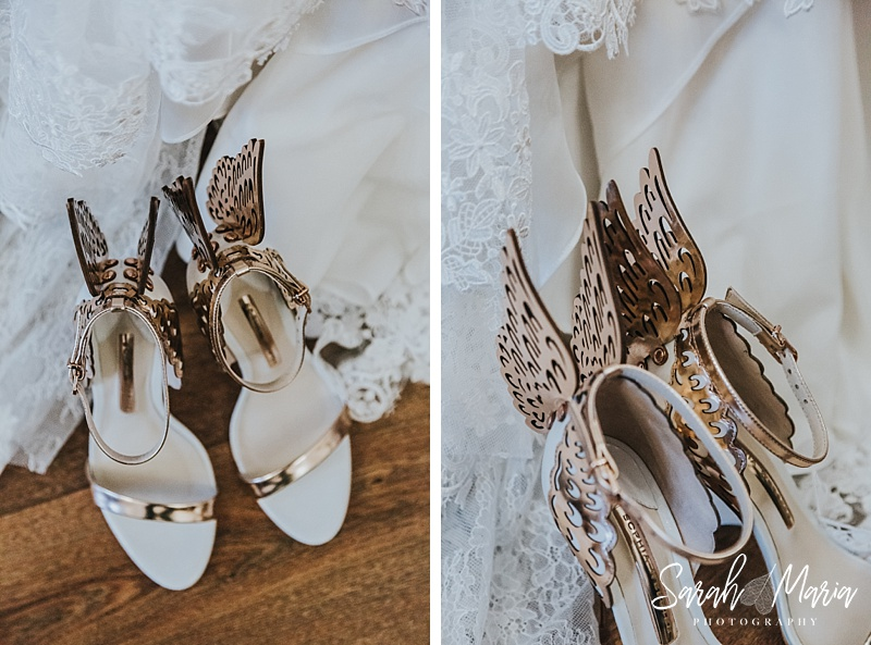 Sophia Webster shoes with wings