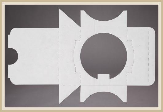 Stanzzuschnitte aus Pappe individuell angefertigt.