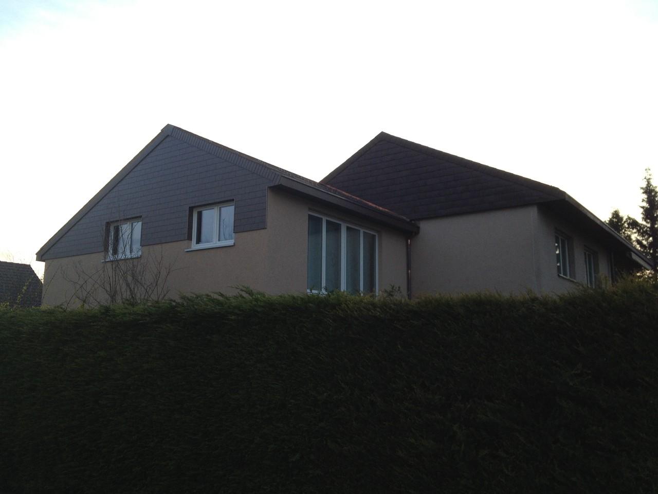 Anbau an bestehendes Haus