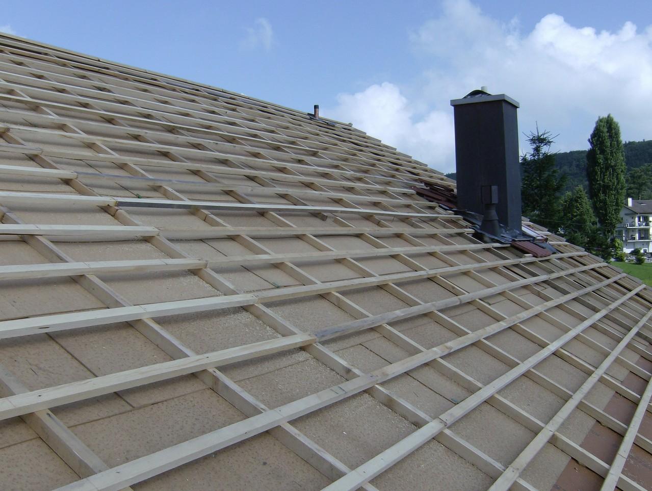 Steildachsanierung: Unterdach
