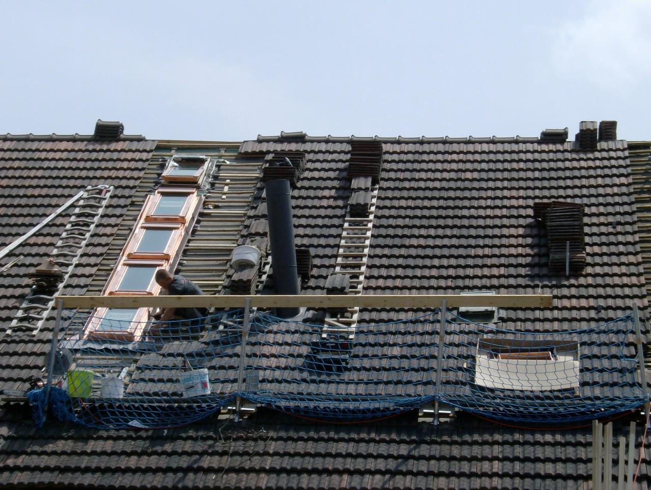 Einbau Lichtband (Dachfenster)