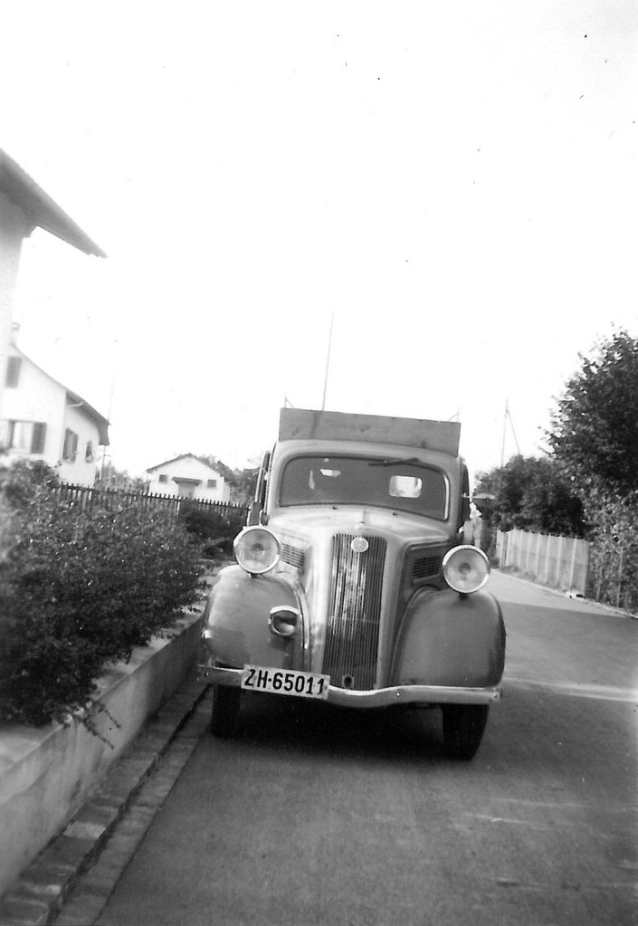 Jakob Mettler-Fehr's erster Wagen