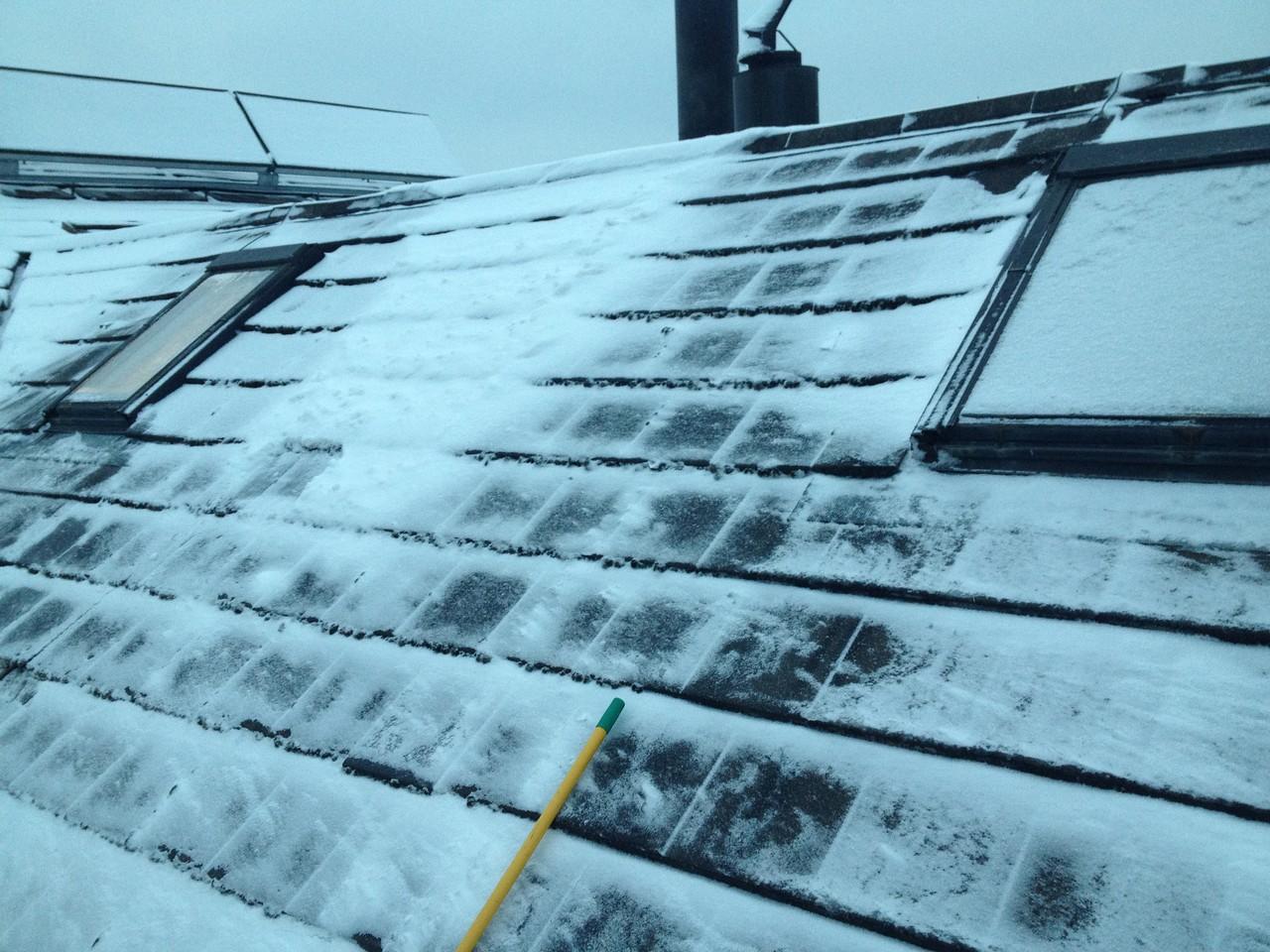 Dachfenster auswechseln: Vorher