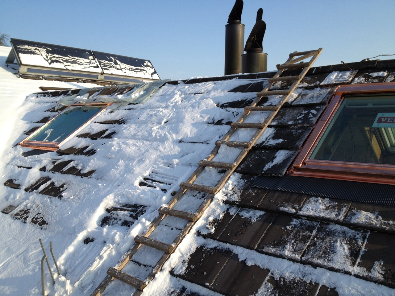 Dachfenster auswechseln: Nachher