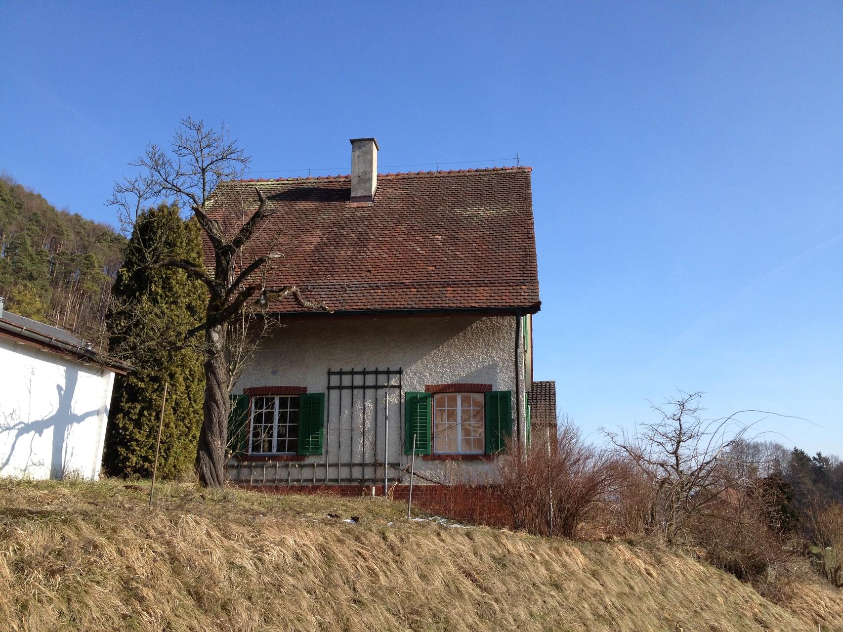Gebäude vorher