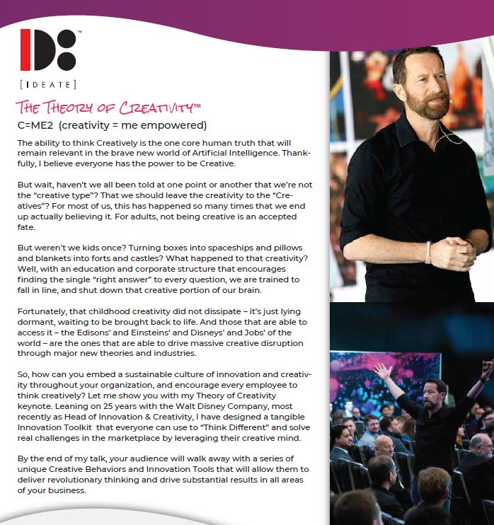 duncan wardle booking conference creativity innovation contact entertainment