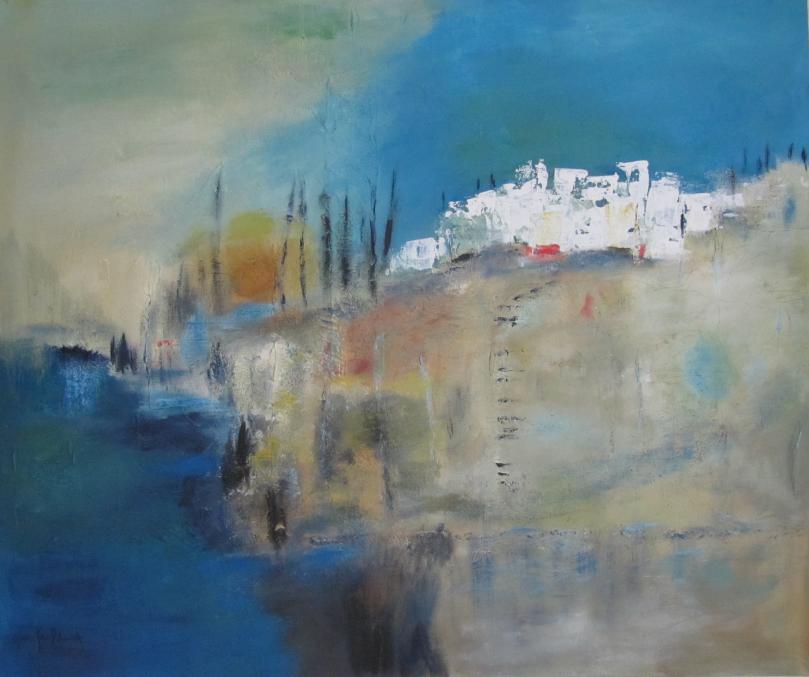 Tanger 100 x 120 Acryl auf Leinwand