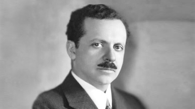 Portrait of Edward Bernays