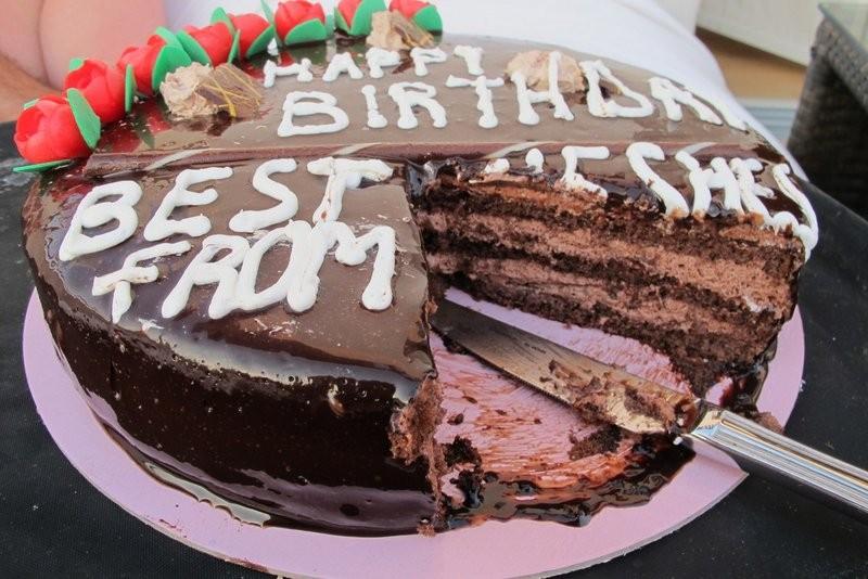 Kuchen darf nie fehlen