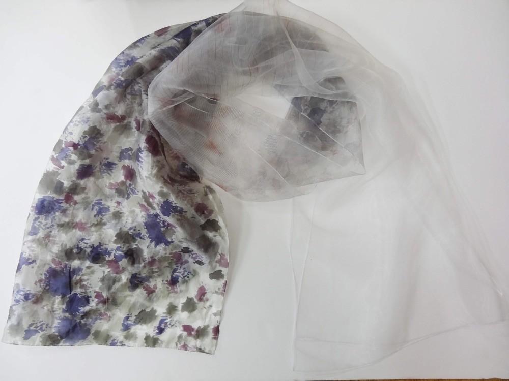 Akarizome shawl