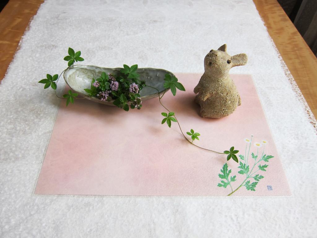 Kaga Yuzen placemat