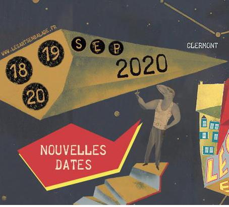Les arts en balade 2020 Clermont Ferrand lachaviche