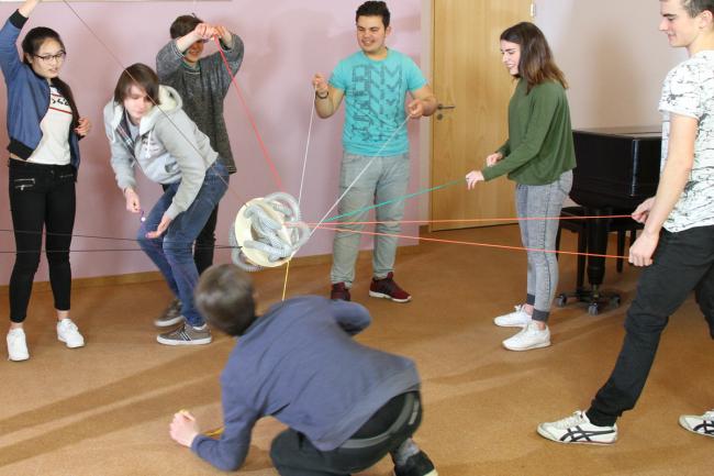 PerspActive, Teamarbeit, Führen, Projektmanagement, Lernkomplize
