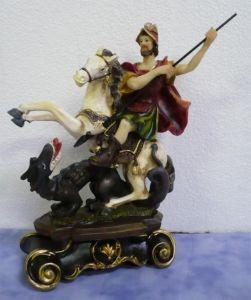 Saint Georges 18x11 cm 28.90€ en resine