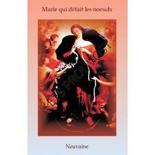 MARIE QUI DEFAIT LES NOEUDS  (livret explicatif)