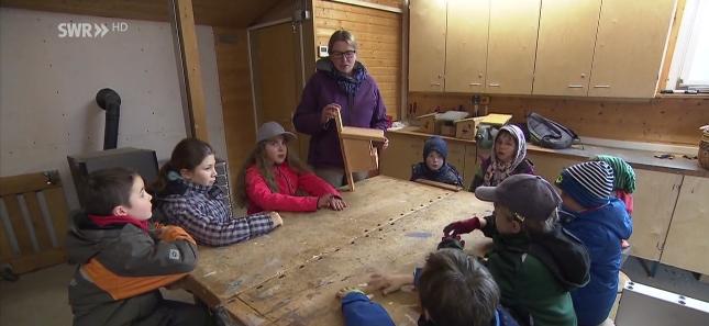 Film des SWR 3 - einfach auf Bild klicken - ab Minute 18 kommen die Natur-Kids