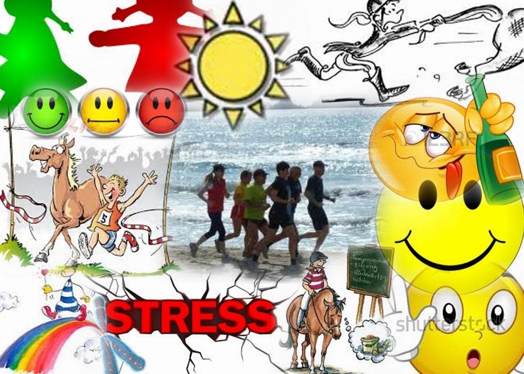 STRESS ist vielseitig & verursacht Spannung