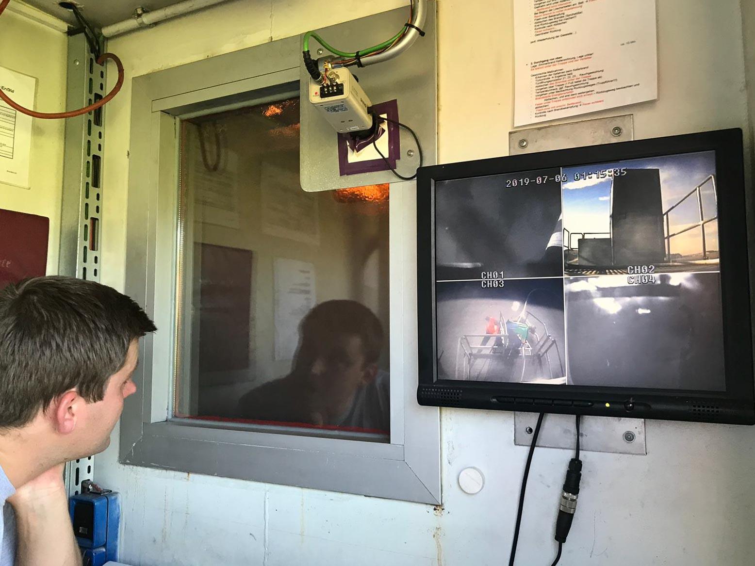 Feuerwehr Ermengerst - Brandübungsanlage für Atemschutz am 05.07.2019