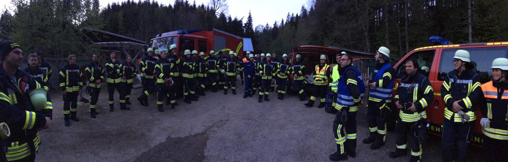 Feuerwehr Ermengerst - 2019 Übung Hofgut Kürnach