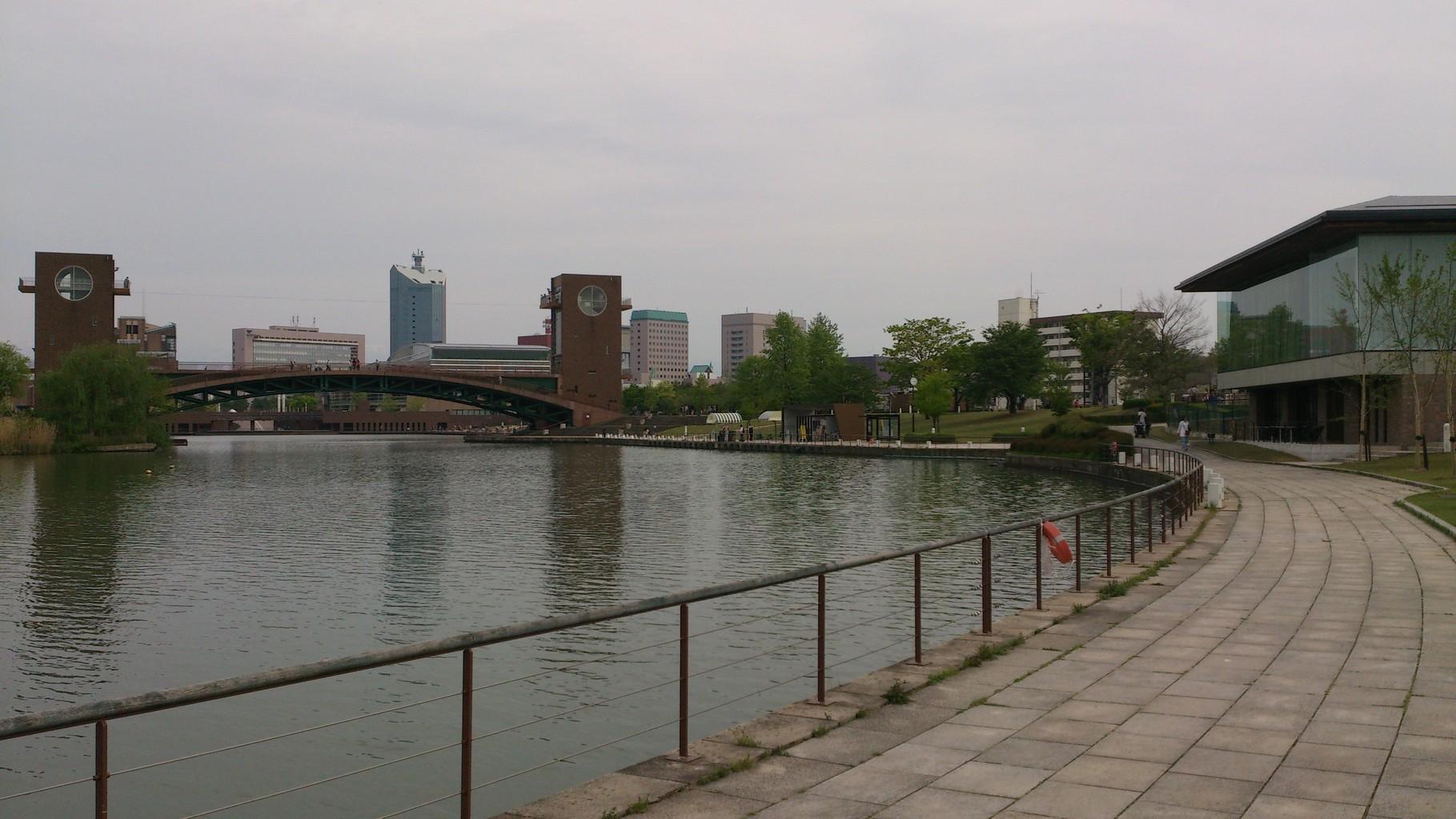 天門橋・冨岩運河・スタバ